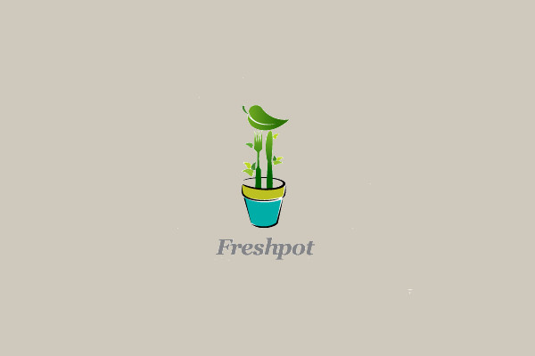 Garden Vegetable Plant Logo