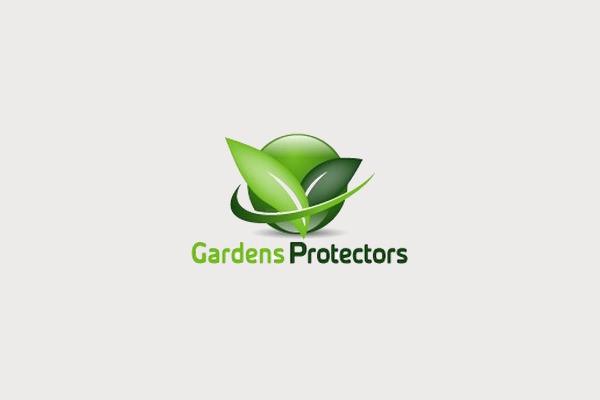 Gardens Protectors Plant Logo