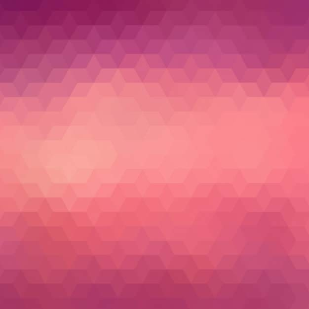 Geometric Background In Red & Purple