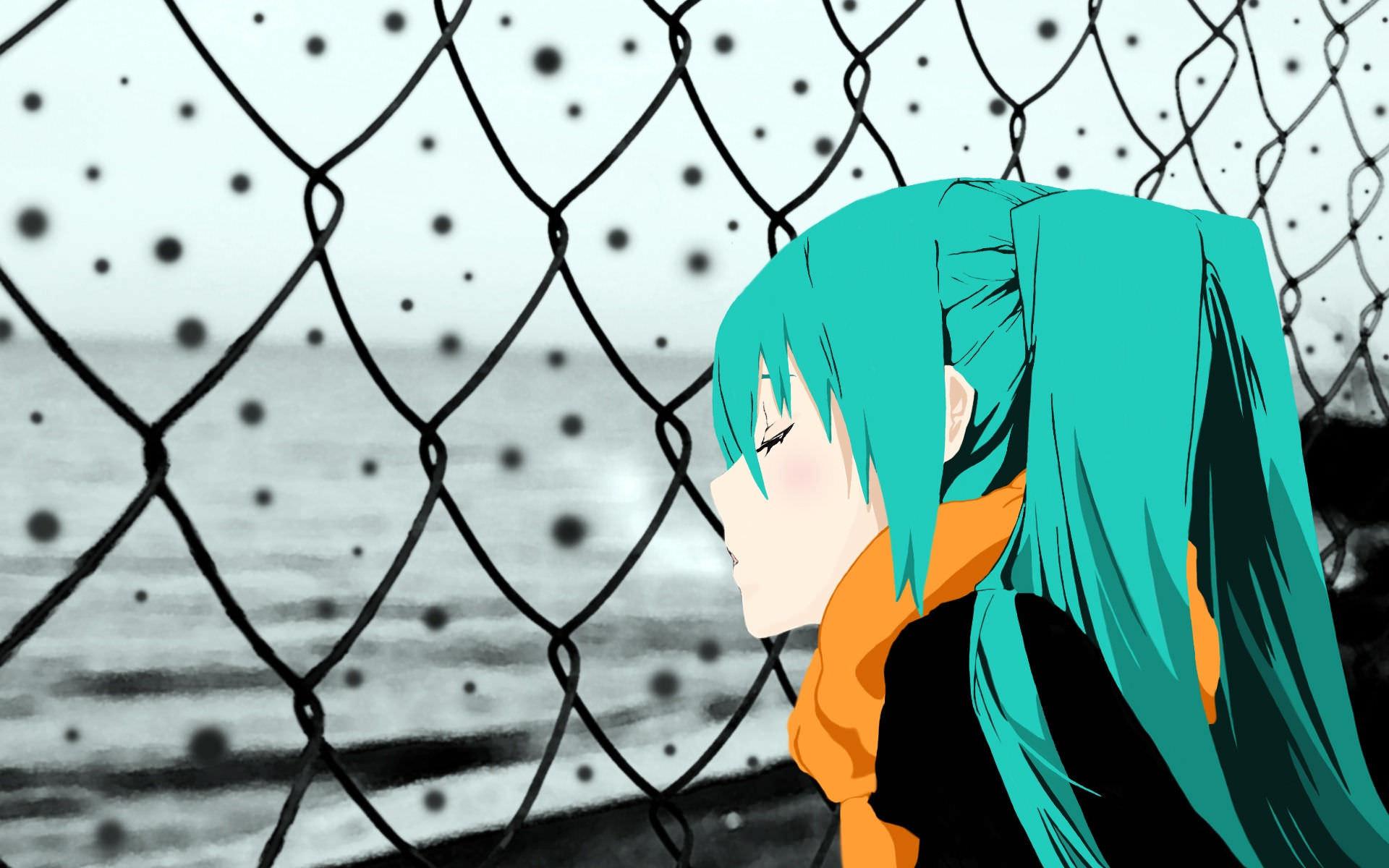 Girl Vocaloid Sleepy Wallpaper