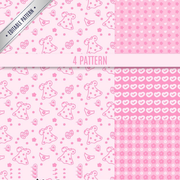 Girly Vector Pattern For free