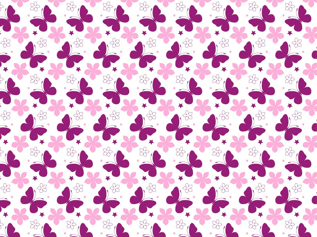 girly pattern graphics background