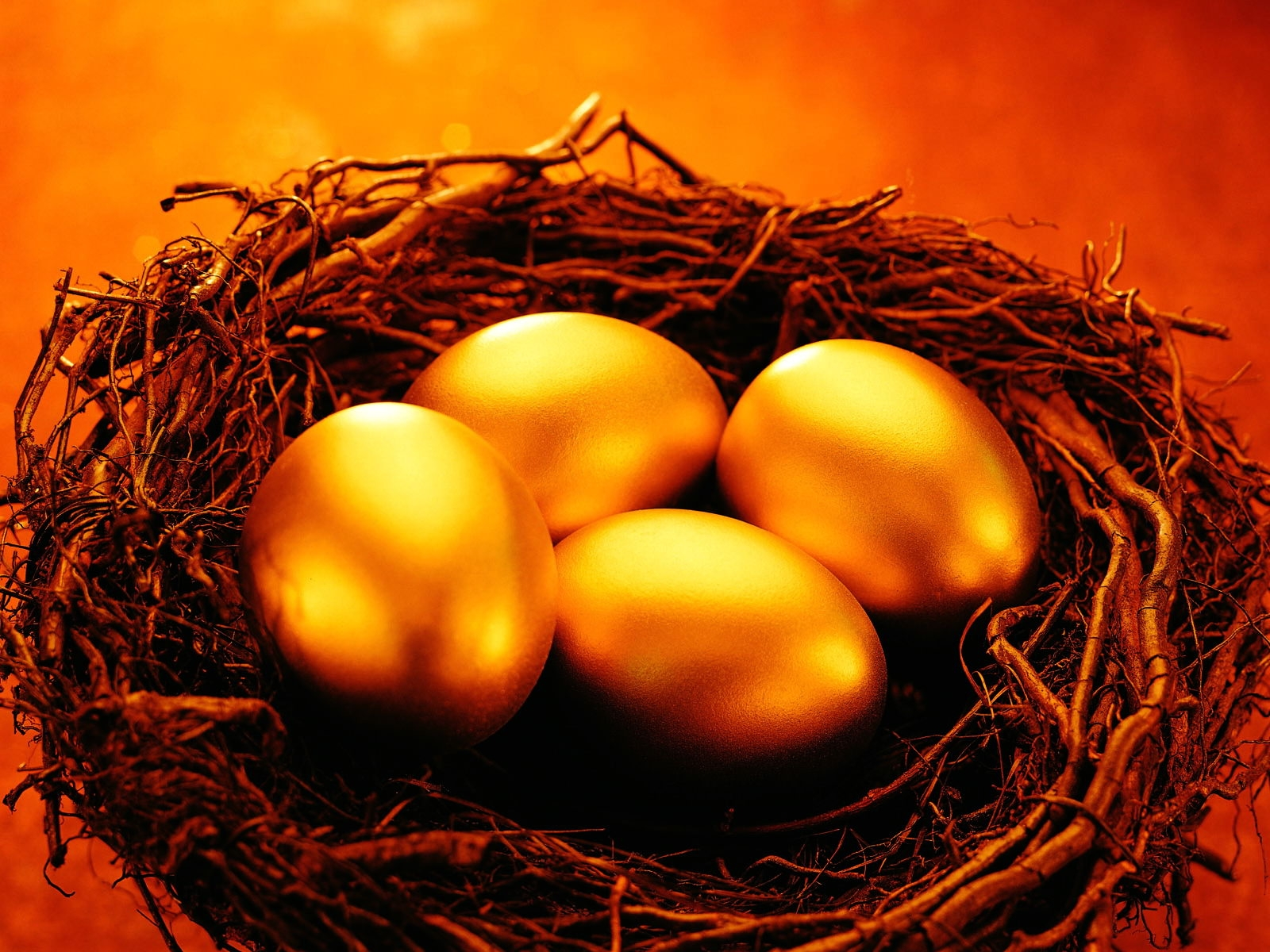 Golden Eggs Wallpaper