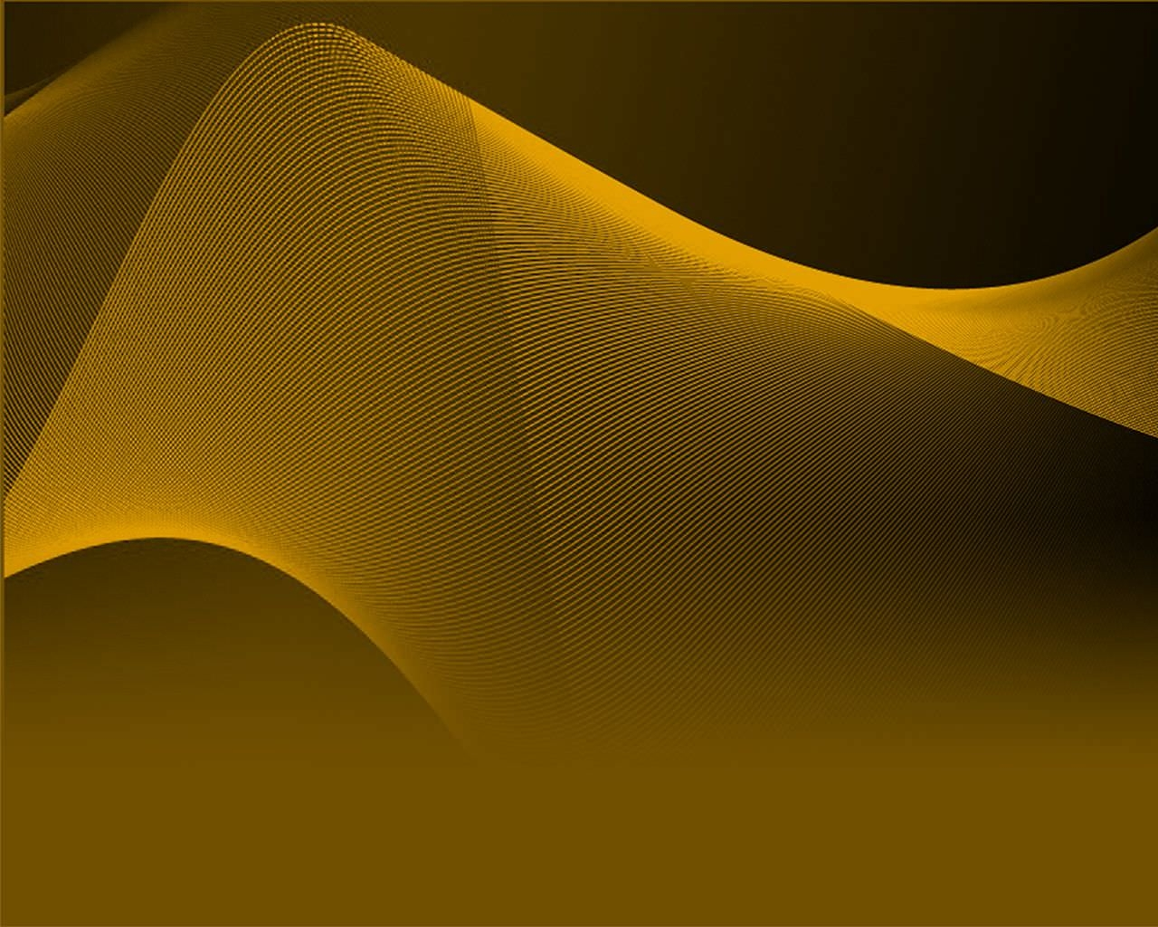 Golden Wavy Abstract Wallpaper