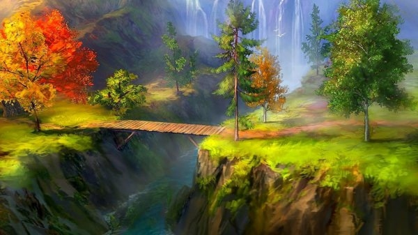 great landscape nature art