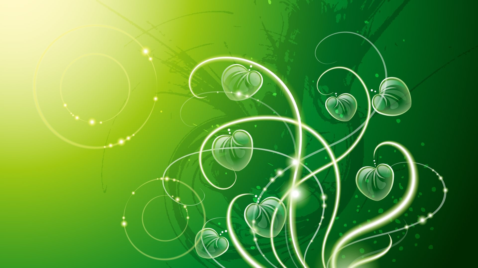 Green Abstract Wallpaper For Download