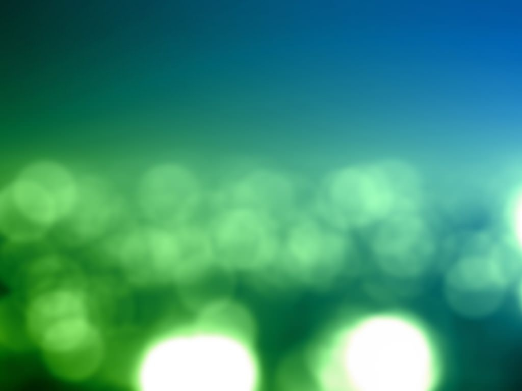 Green Lights Abstract Wallpaper