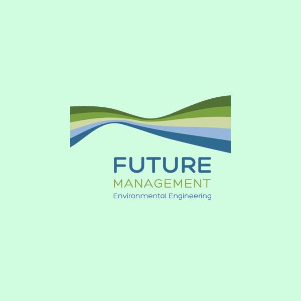 Green Wavy Environment Logo