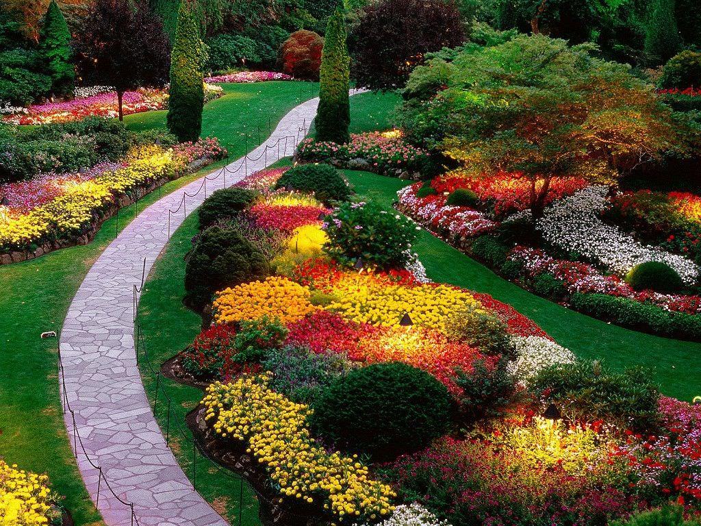 HD Garden Wallpaper For Desktop