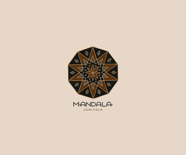 Hand Drawn Mandala Logo
