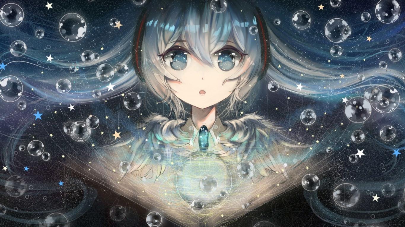 Hatsune Miku Vocaloid Wallpaper