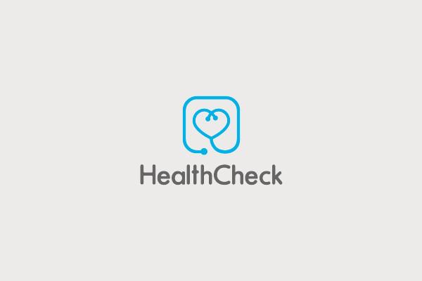 Health Check Logo Design