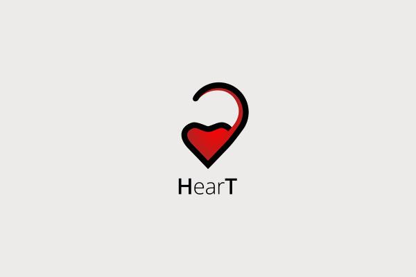 HearT Health Logo Design