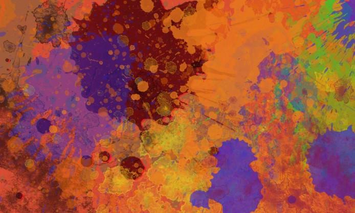 High Qualityb Paint Splatter Wallpaper