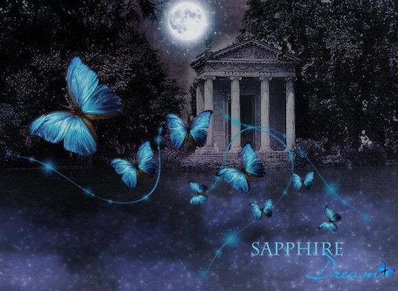 High Resolution Sapphire Dream Wallpaper