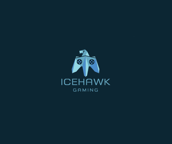 Ice Hawk Gaming Logo