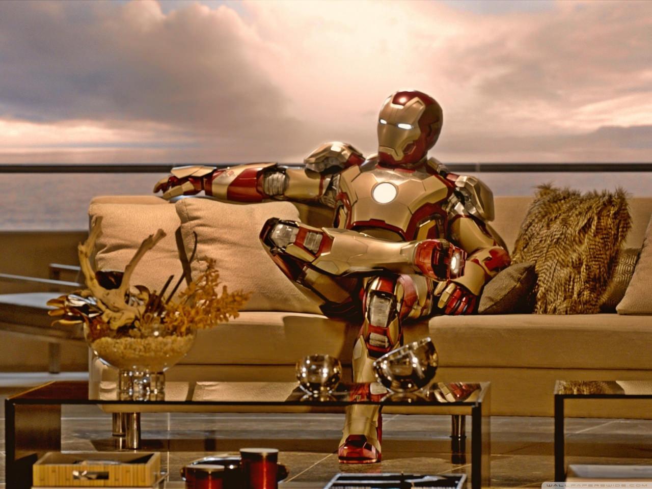 Iron Man Golden Wallpaper