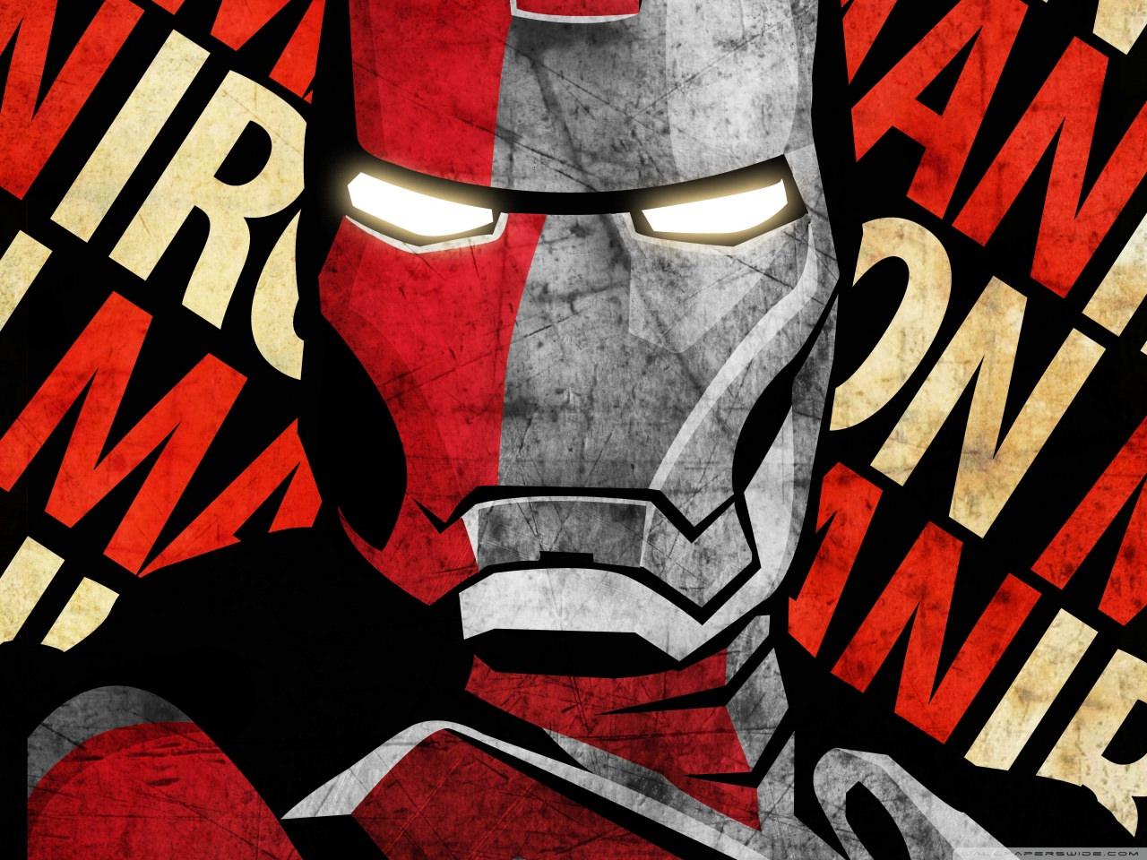 Iron Man Poster Wallpaper