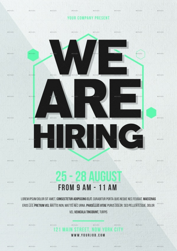 20  job fair flyers