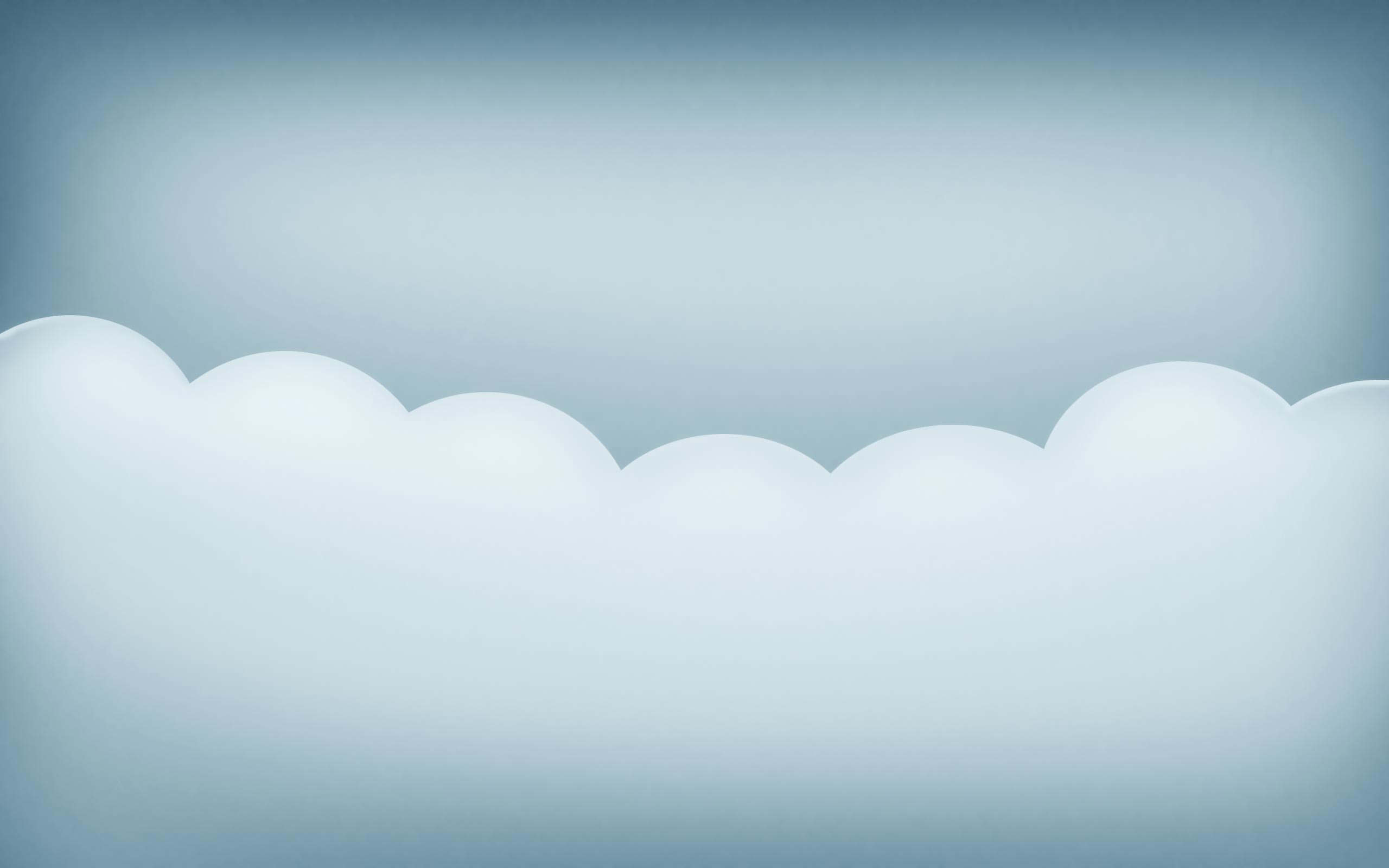 Light Solid Clouds Background