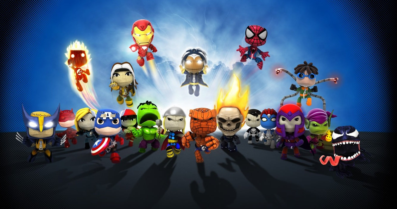 Little Big Planet Marvel Wallpaper