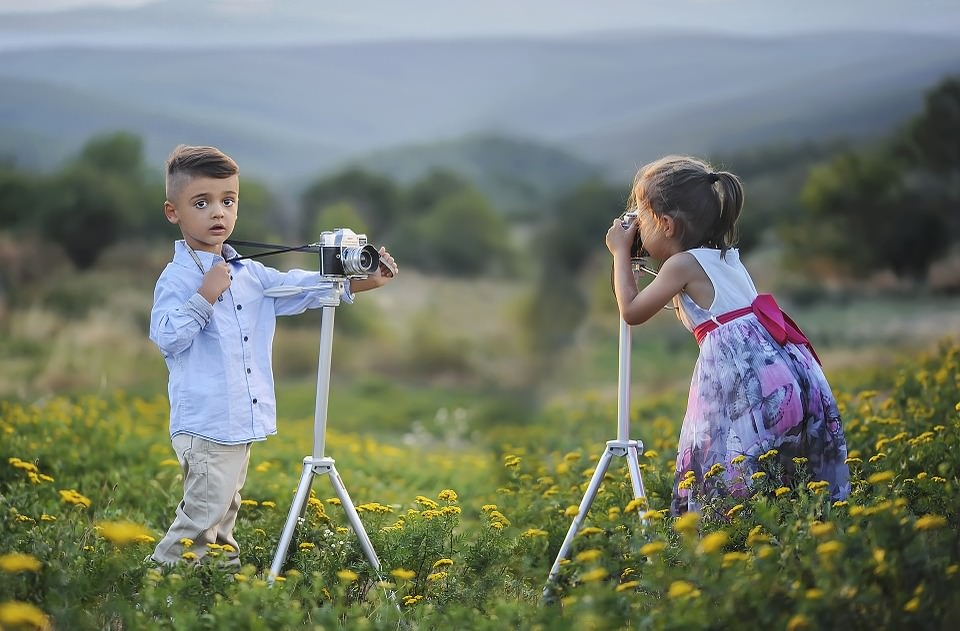 Little Kids Professional Photography