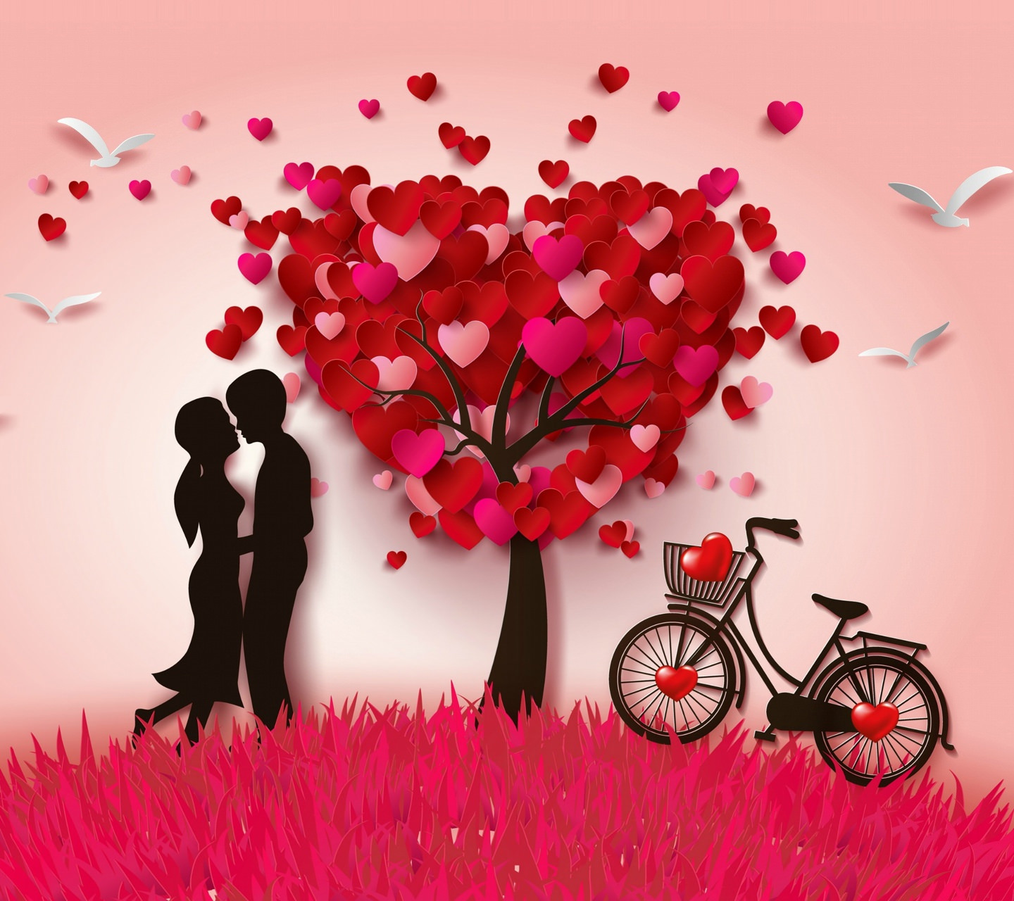 Love Tree  Background