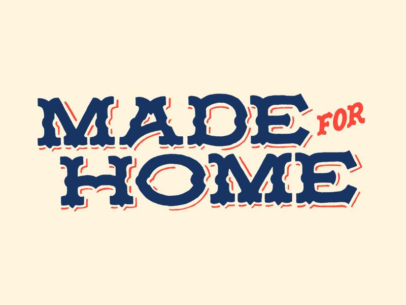 Made For Home Logo Design