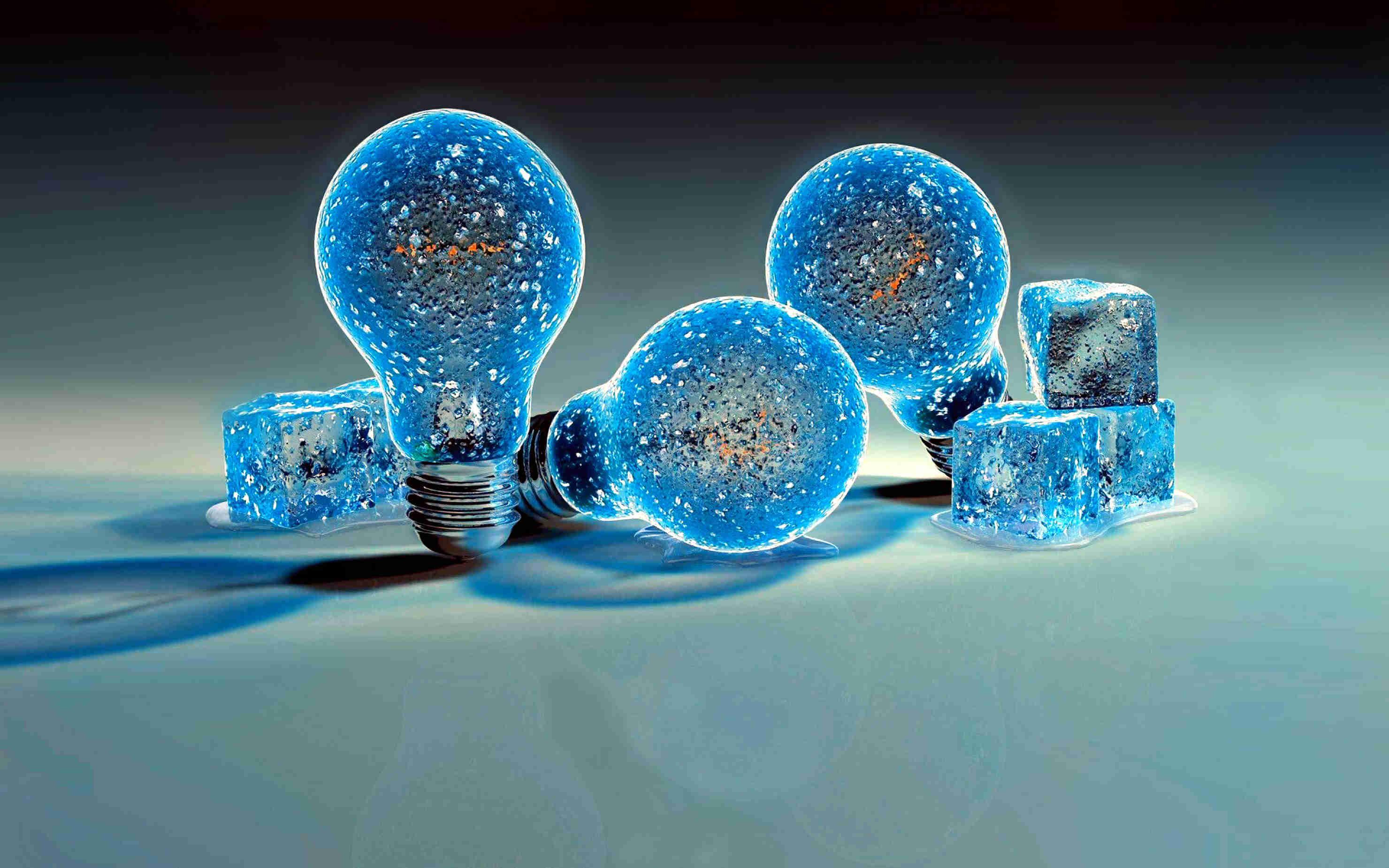 Man Made Magical Bulb Background