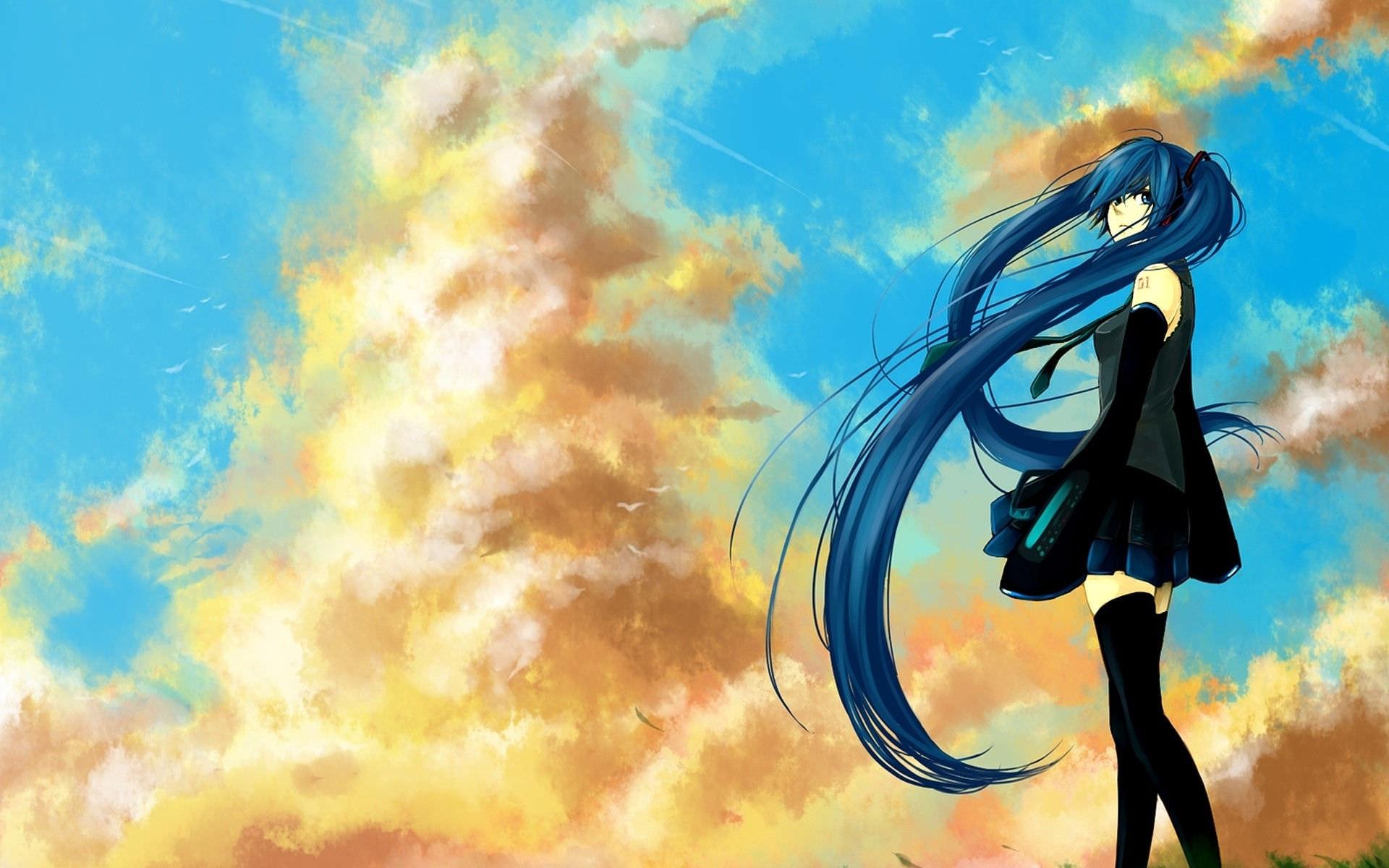 Marvellous Sky Vocaloid Wallpaper