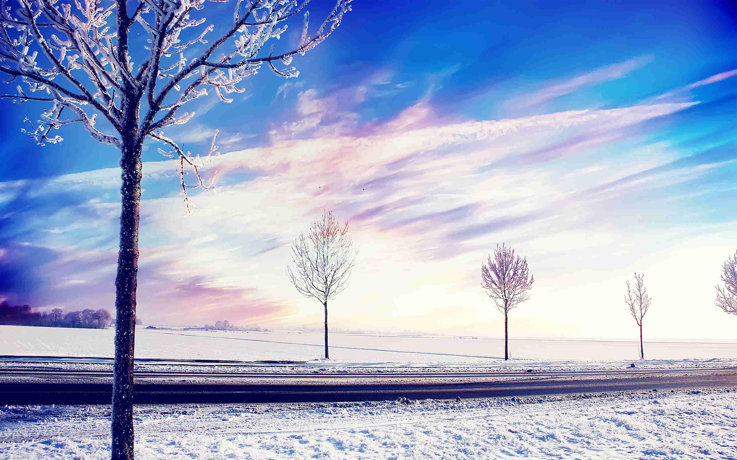 Marvellous Snow Wallpaper