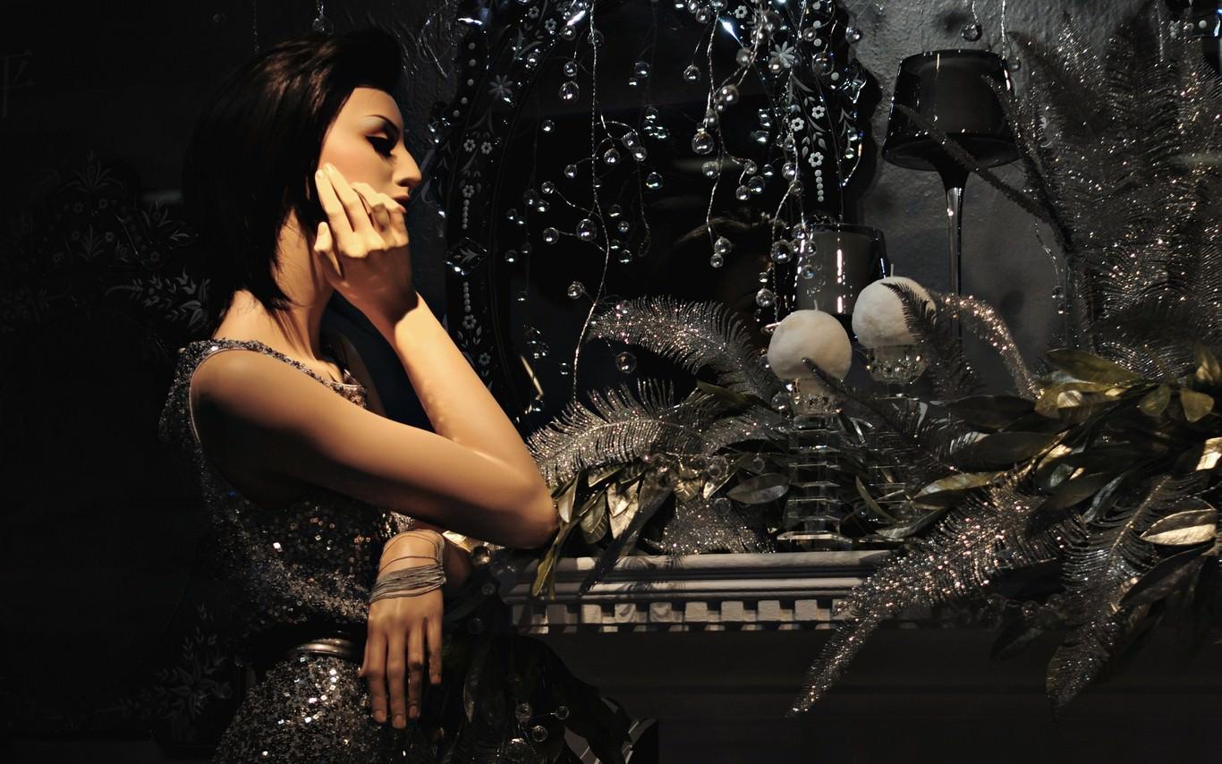 Masquerade Sparkles Fashion Wallpaper