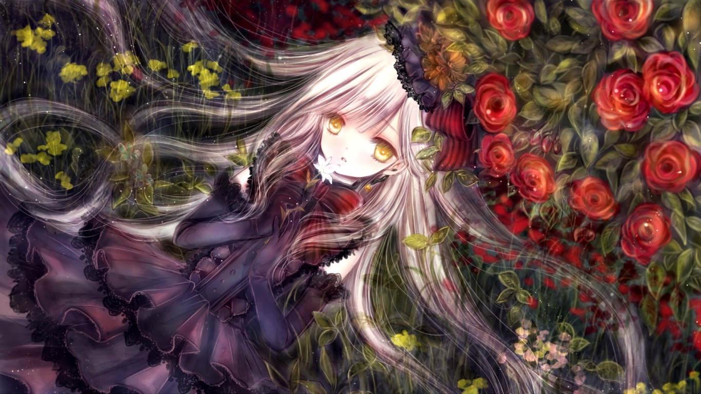 Mayu Anime Vocaloid Wallpaper