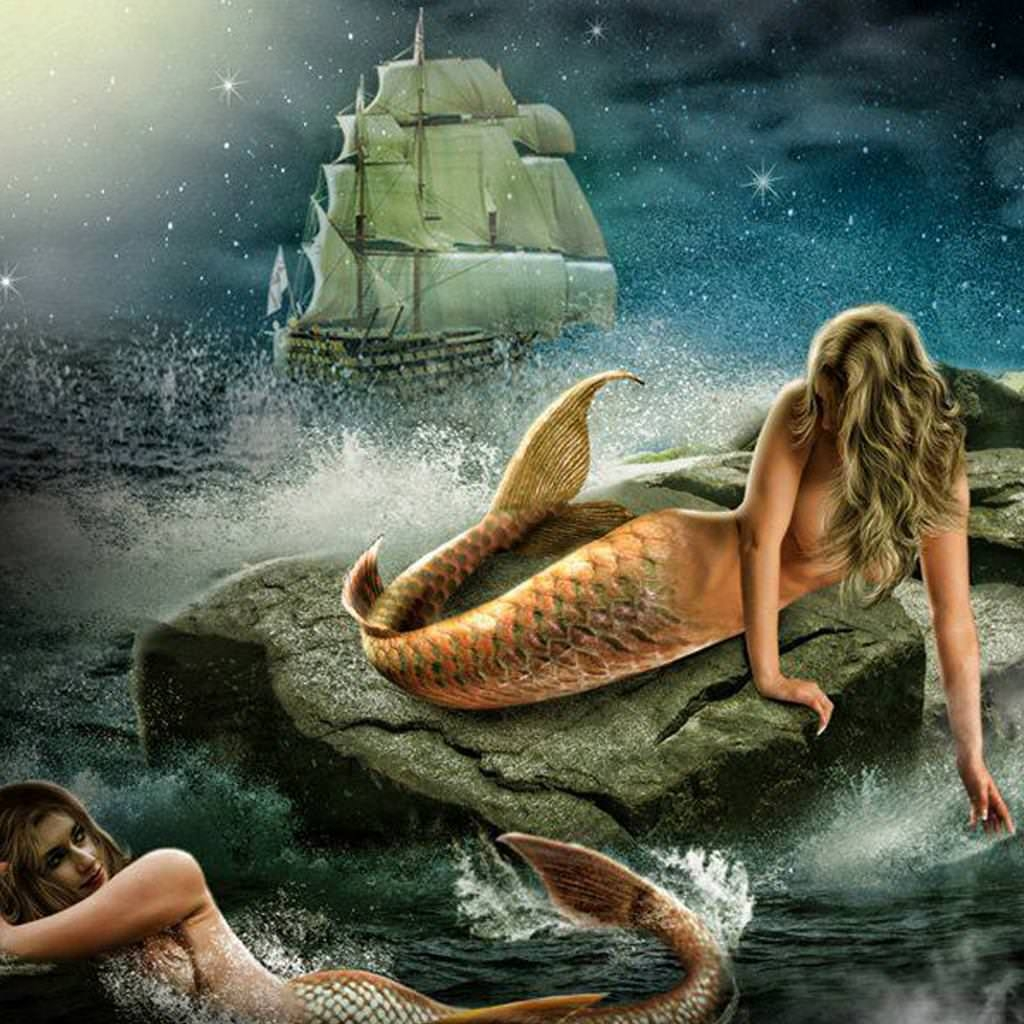 Mermaids iPad Wallpaper For Free