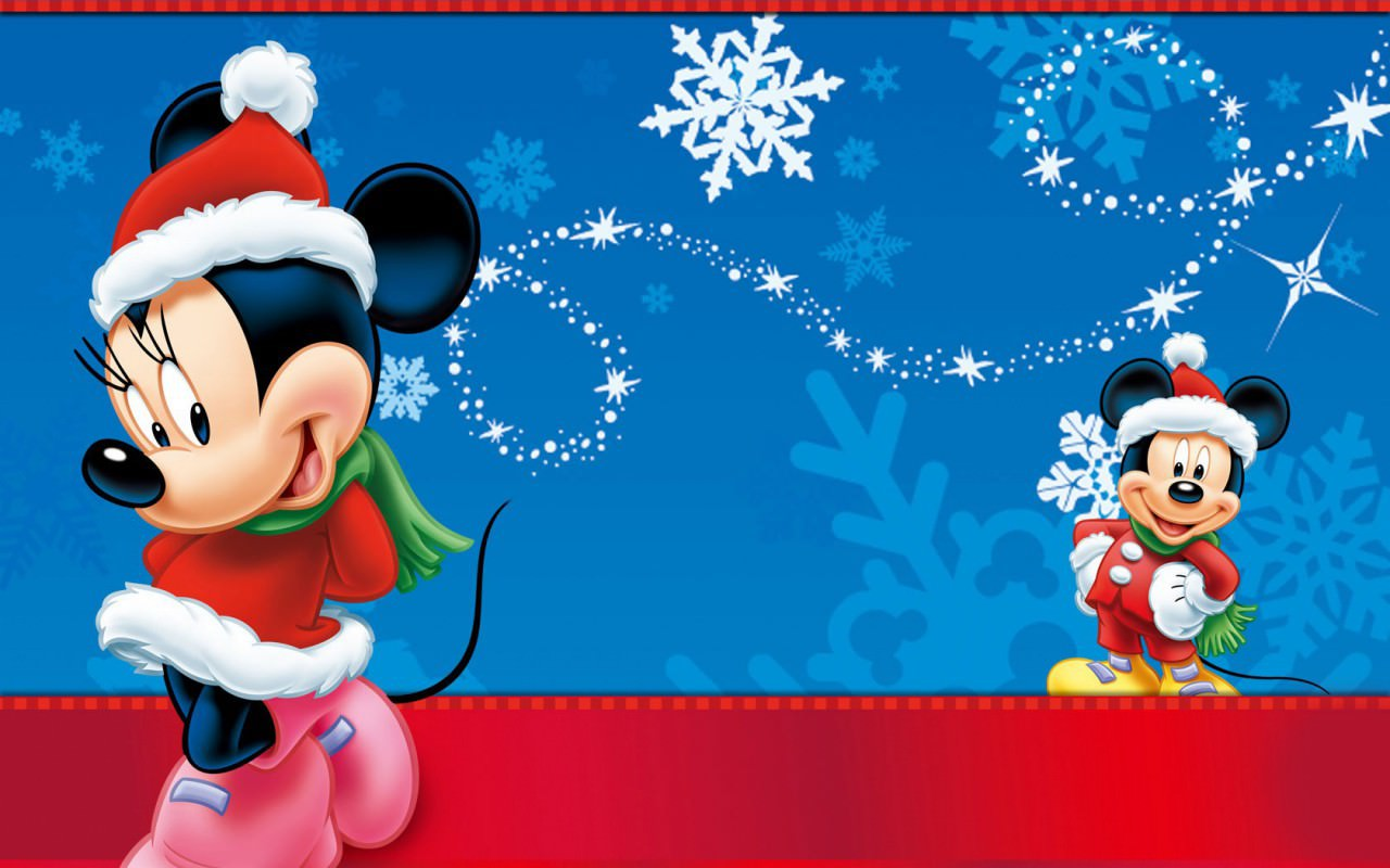 Mickey Mouse Christmas Wallpaper