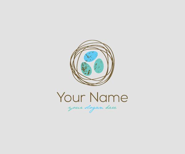 22 Egg Logos Chick Logo Designs Freecreatives