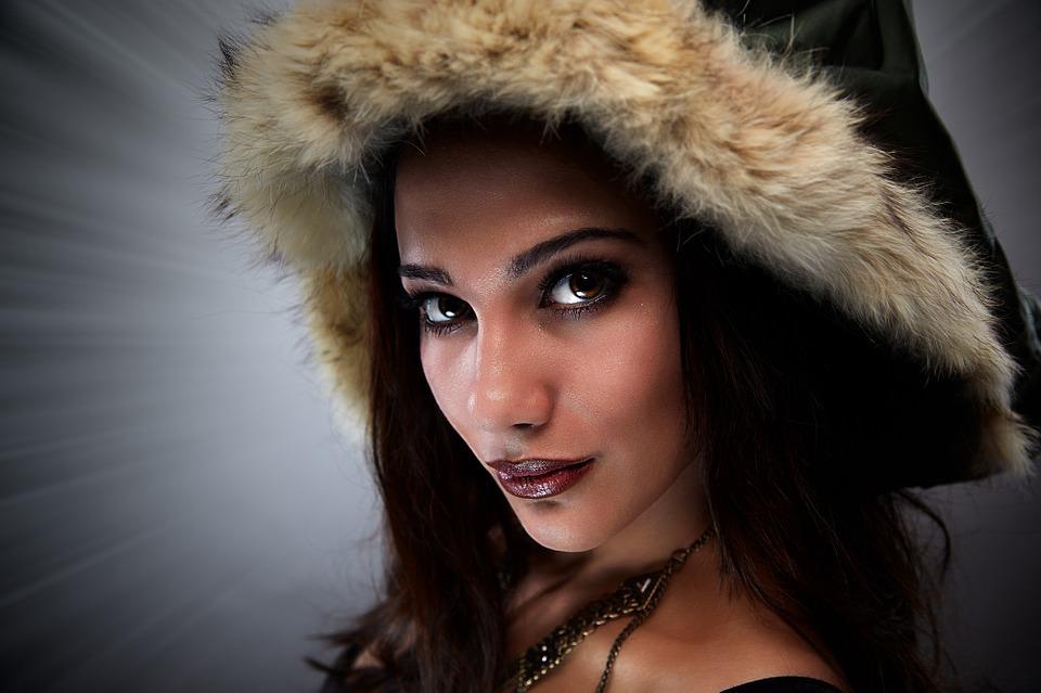 Model Woman Portrait Studio