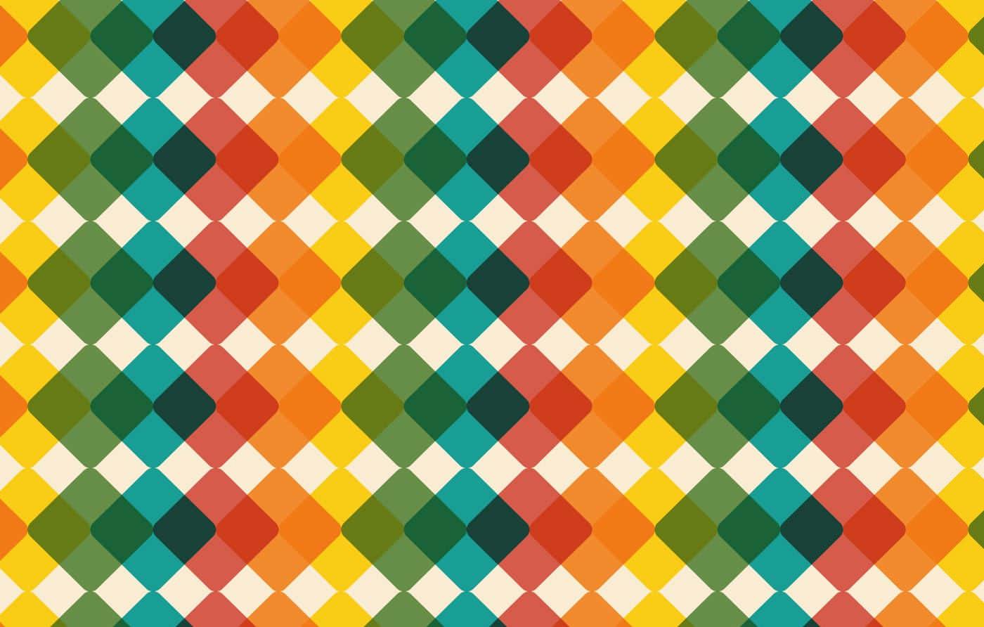 Modern Checkered Vector Background