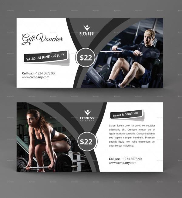 Modern Gift Card Voucher Design