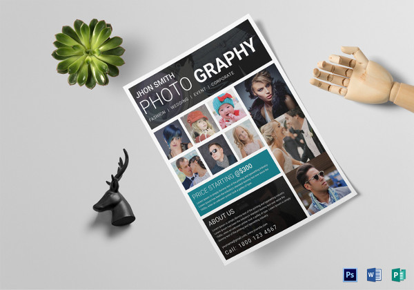 Modern Photography Flyer Template