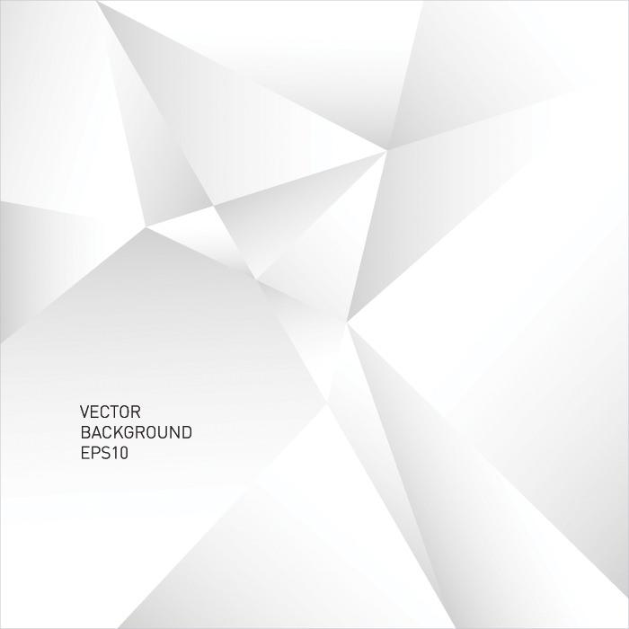 Modern White Geometric Background