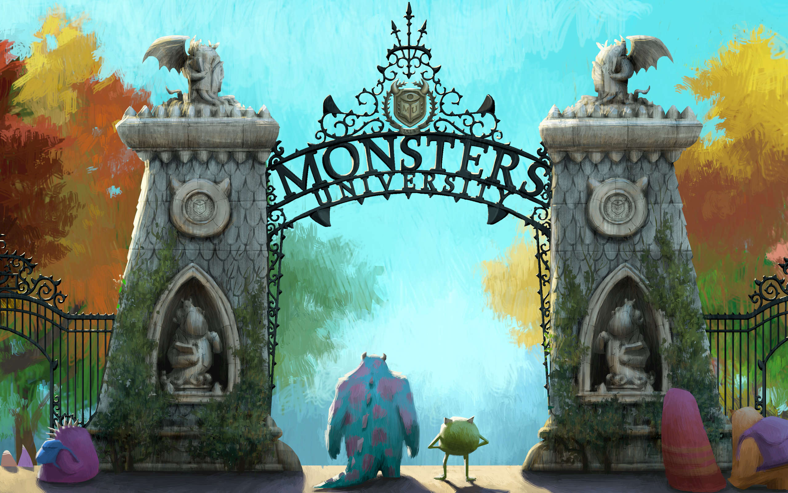 Monster University Animated Wallpaper