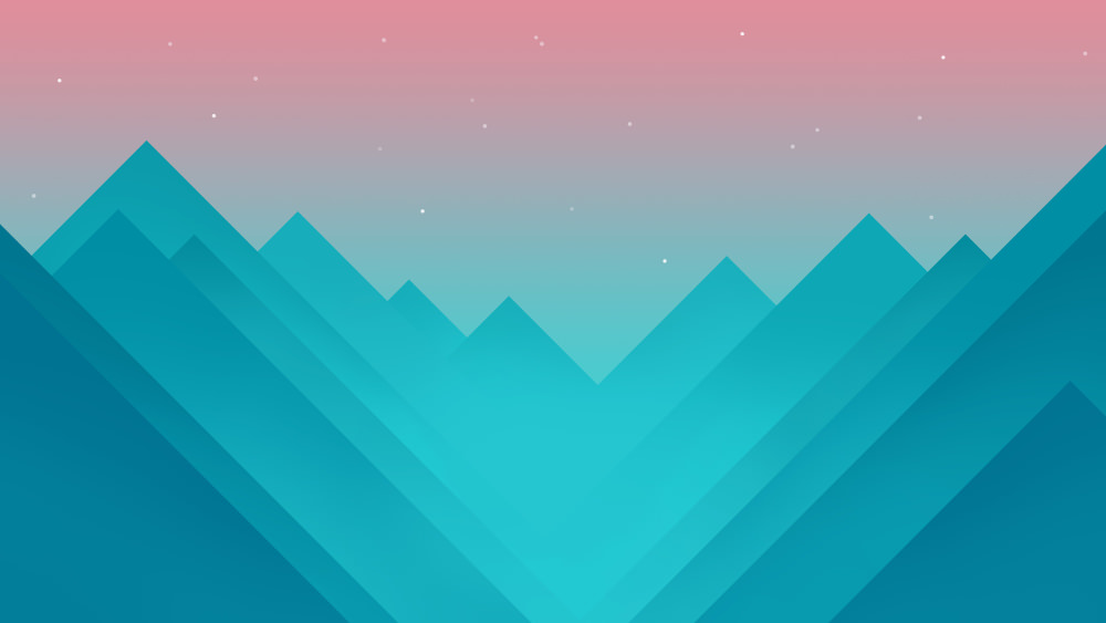 Monument Valley Abstract Wallpaper