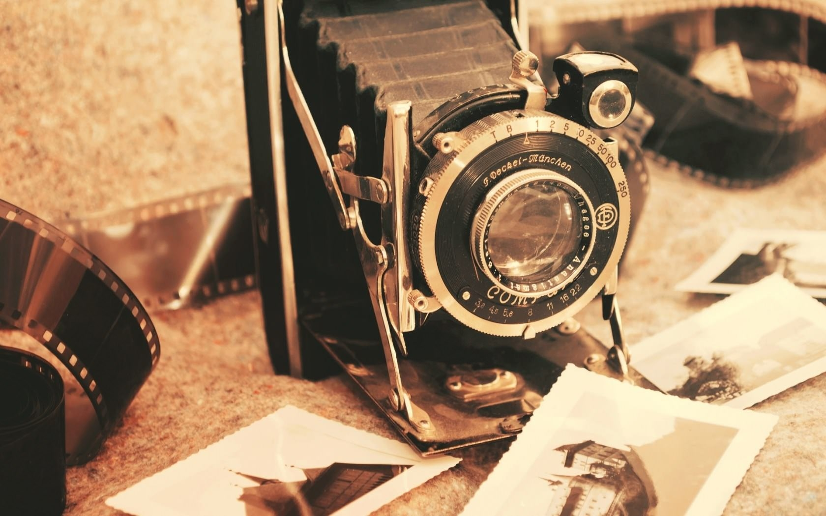 Mood Camera Retro Vintage Wallpaper