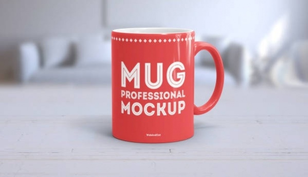 Morning Coffee Mug Mockup