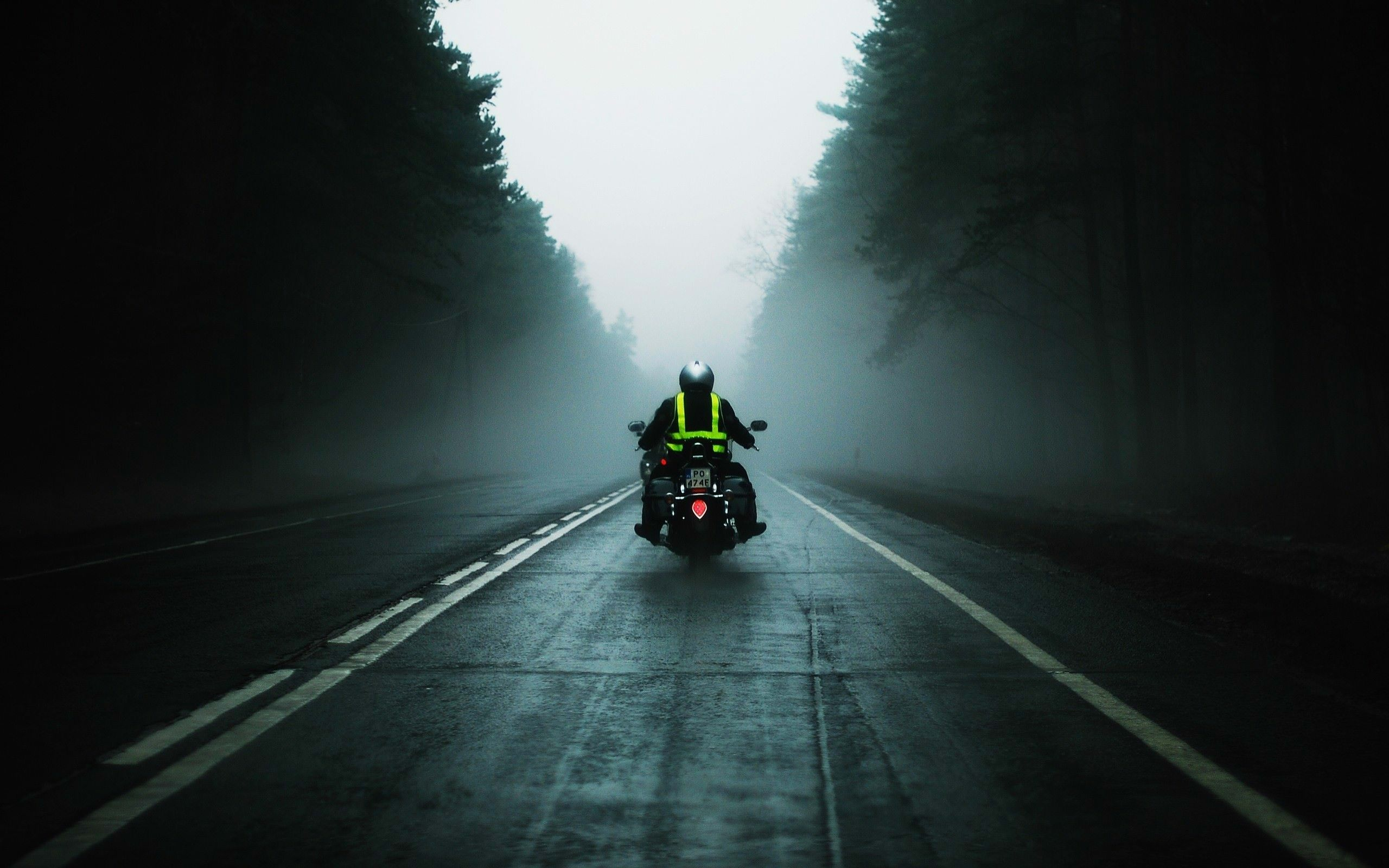Motorcycle Road Wallpaper