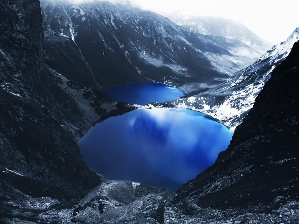 Mountain Lake Wallpaper