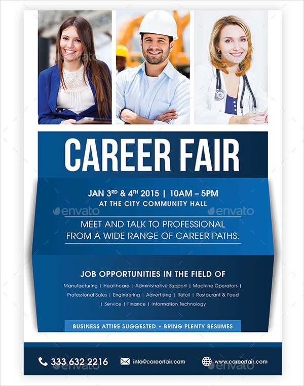 Multipurpose Flyer for Job Fair