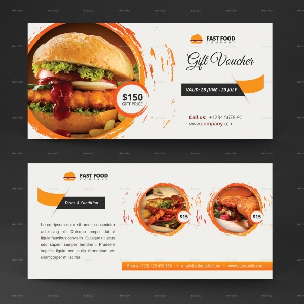Multipurpose Gift Card Voucher