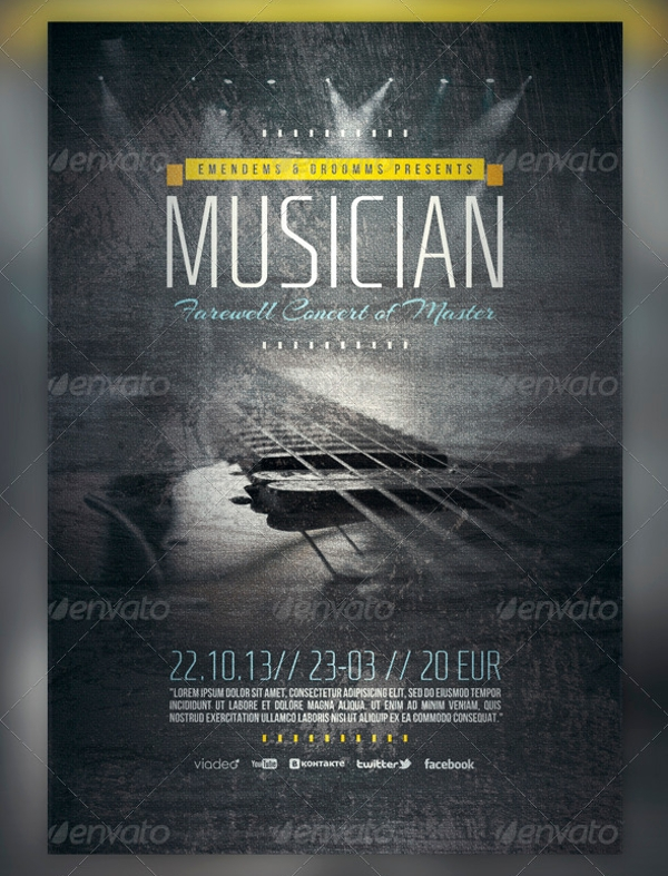 FREE 9+ Farewell Flyer Designs in PSD | Vector EPS ...